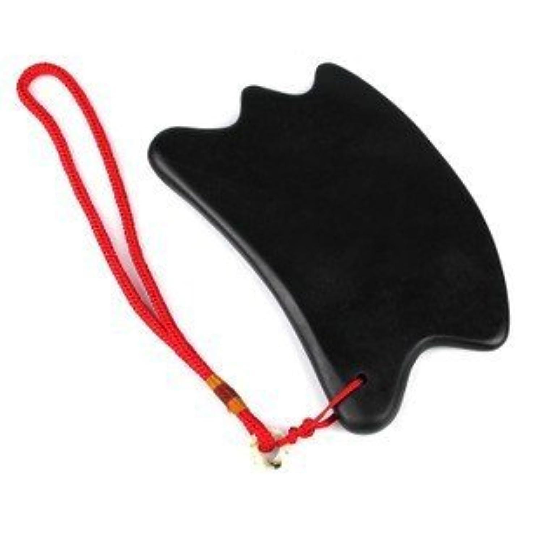 病気火山学者火山学者1 Pc Natural Bian stone Gua Sha plate massage tool天然石四方W,V 型?ボディのリンパマッサージ かっさプレート 足つぼ?手のひら かっさ 泗濱ベン石(泗濱浮石)