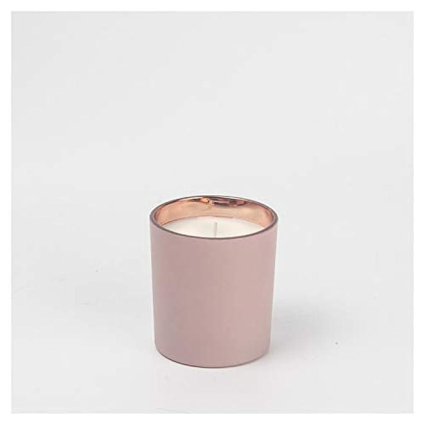 拍車優越に勝るACAO 手作りの香りのキャンドルクリエイティブフロストカップキャンドル屋内の香りのキャンドル (色 : White, Size : 4.5x5.2cm)
