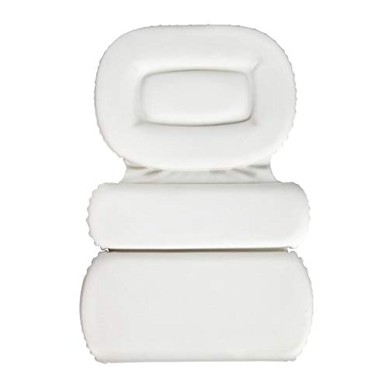 スワップ欠陥キャストサクションカップ付きPU三重スポンジ風呂枕バスタブ枕滑り止め速乾性スパクッション(頭、首、背中のサイズを問わず)