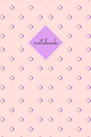 Pink Diamond Notebook: 100 pages, 6x9