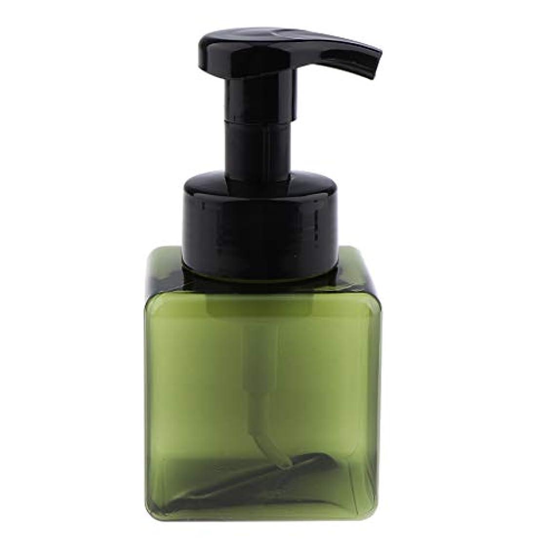 食い違い兵器庫淡いB Blesiya フォームディスペンサー ポンプボトル 250ml 6色選べ - 濃い緑色