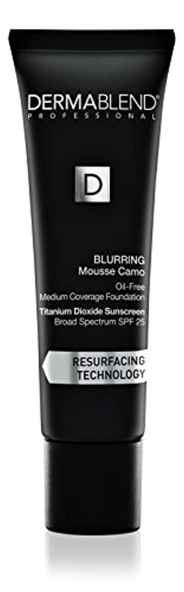 組み合わせ定期的な優越ダーマブレンド Blurring Mousee Camo Oil Free Foundation SPF 25 (Medium Coverage) - #40W Sahara 30ml/1oz