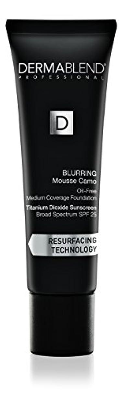 お嬢超越するつづりダーマブレンド Blurring Mousee Camo Oil Free Foundation SPF 25 (Medium Coverage) - #40W Sahara 30ml/1oz