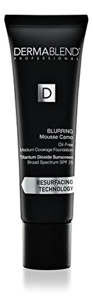 発疹滞在ホームダーマブレンド Blurring Mousee Camo Oil Free Foundation SPF 25 (Medium Coverage) - #40W Sahara 30ml/1oz