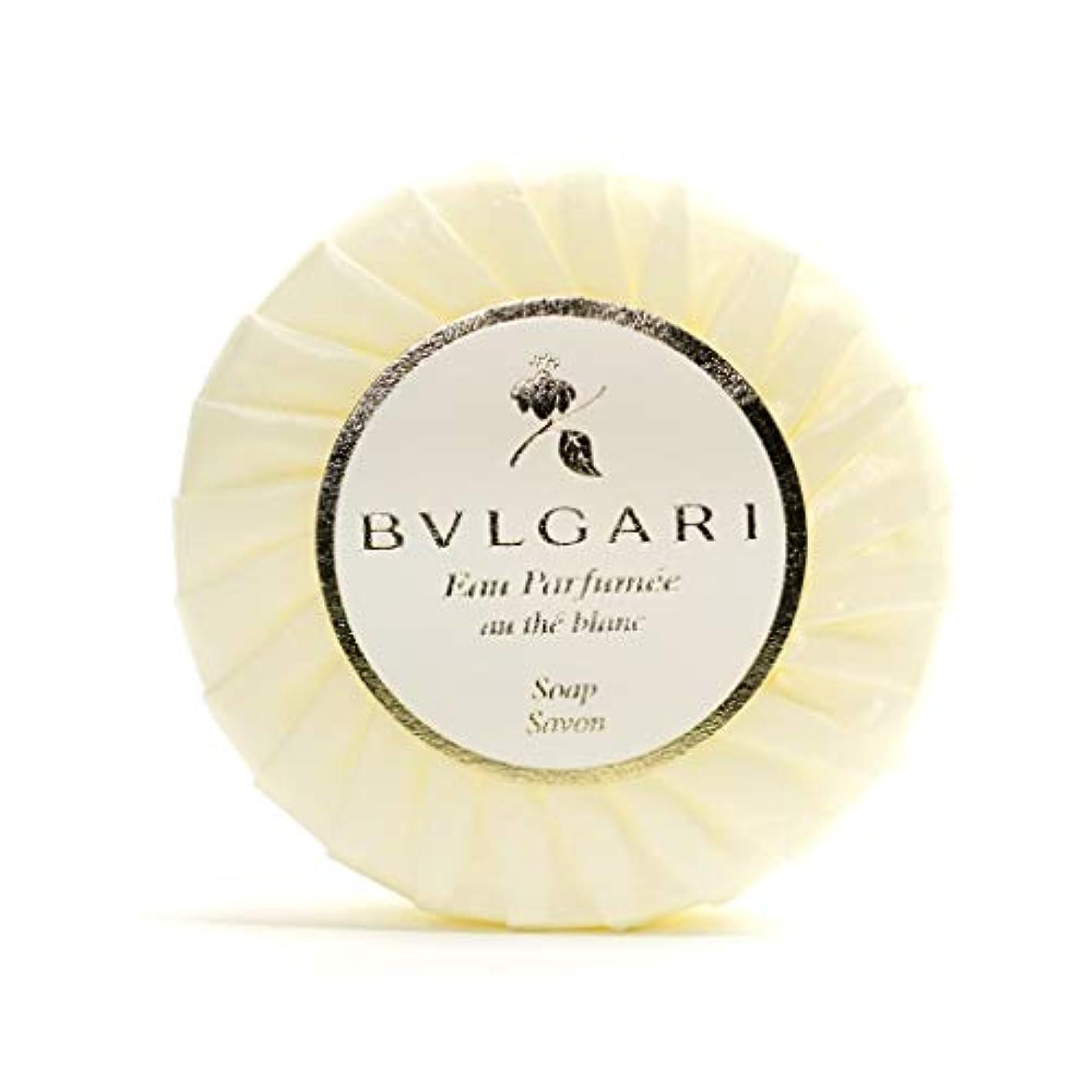 絶滅させるアリーナ自明ブルガリ オ?パフメ オーテブラン ソープ 75g BVLGARI Bvlgari Eau Parfumee au the blanc White Soap