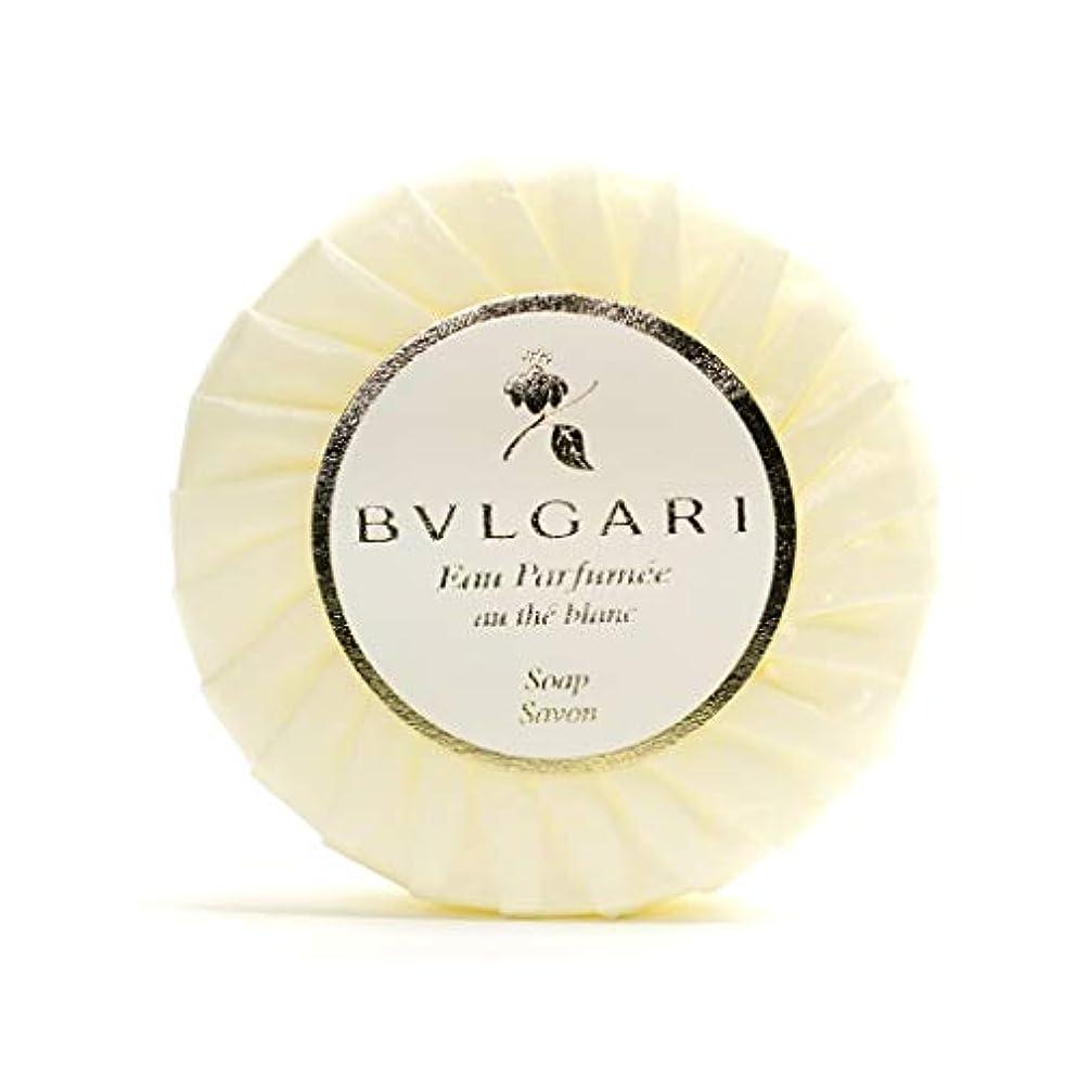 慣習クラッチハドルブルガリ オ?パフメ オーテブラン ソープ 75g BVLGARI Bvlgari Eau Parfumee au the blanc White Soap