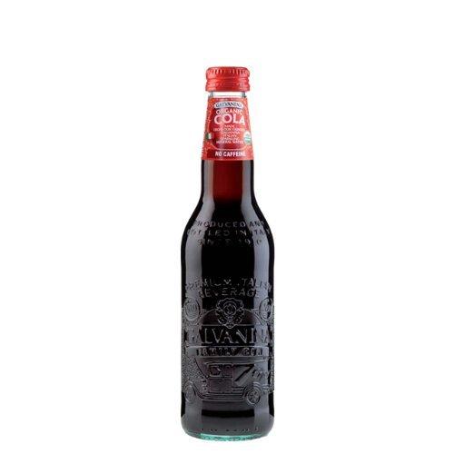 GALVANINA ORGANIC COLA(ガルバニーナ オーガニックコーラ)瓶355mlx6本(炭酸水 オーガニック コーラ ジュース イタリア おしゃれ)