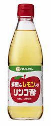 マルカン 蜂蜜&レモン入り リンゴ酢 360ml