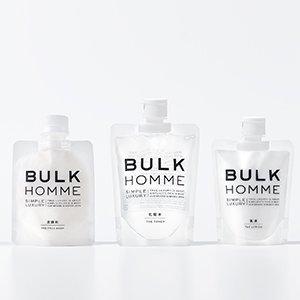BULK HOMME | フェイスケア基本3点セット | THE FACE WASH & THE TONER & THE LOTION (フェイスウォッシュ & トナー & ローション)