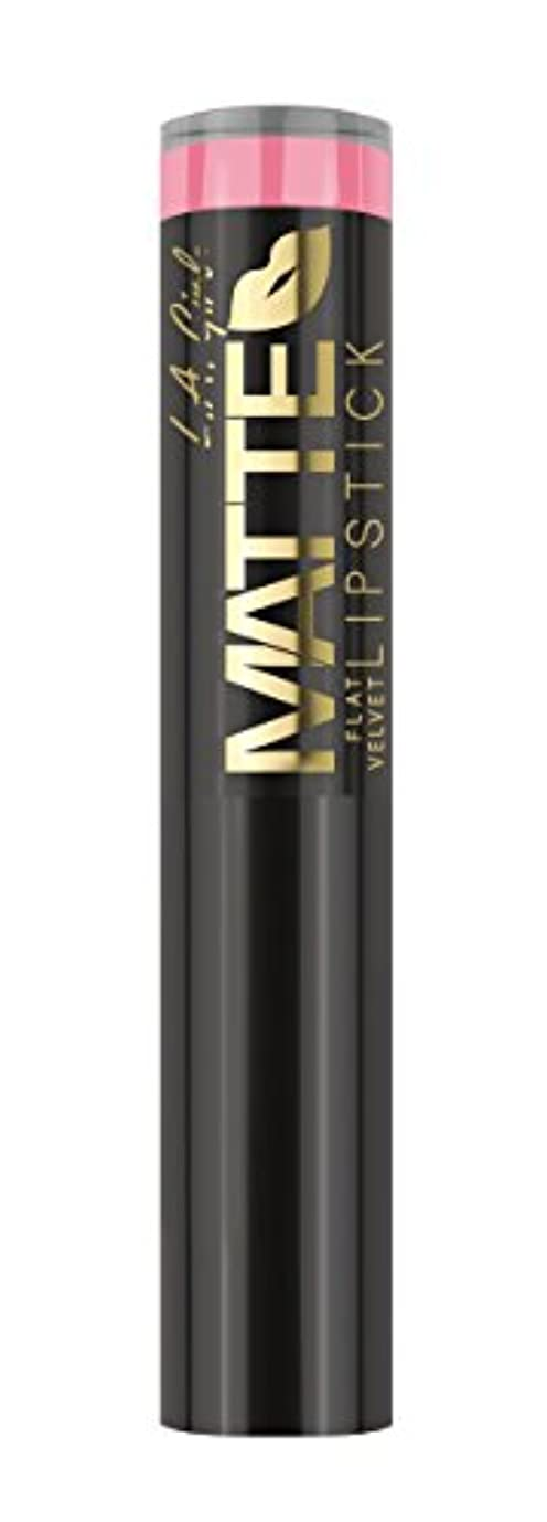 完璧な自分自身財団L.A. GIRL Matte Flat Velvet Lipstick Sweet Revenge (並行輸入品)