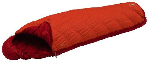 モンベル(mont-bell) 寝袋 バロウバッグ #3 サンライズレッド 右ジップ 最低使用温度1度 1121273 SURD R/ZIP
