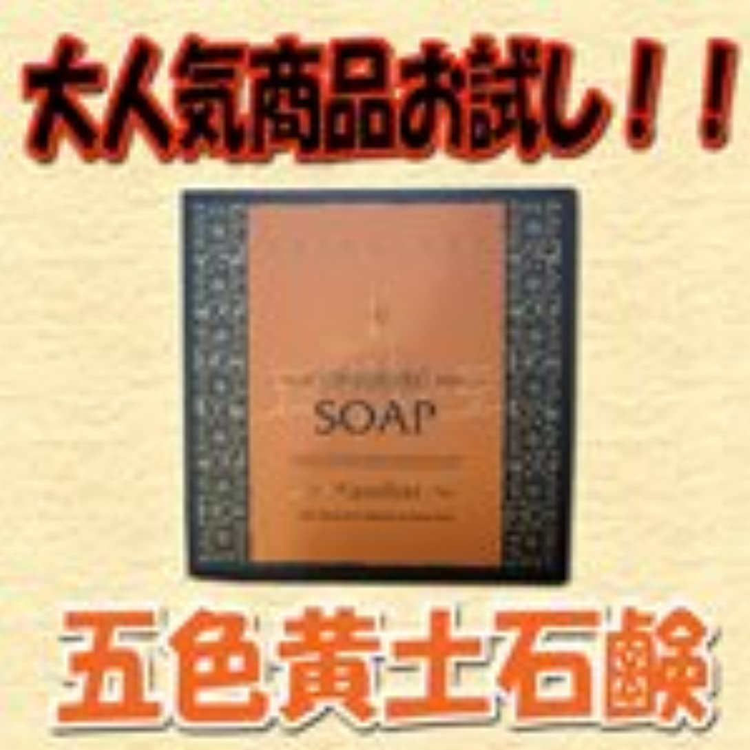 メキシコ平衡特許五色黄土石鹸 トライアルセット 20g 1個入り 【天然ミネラル】