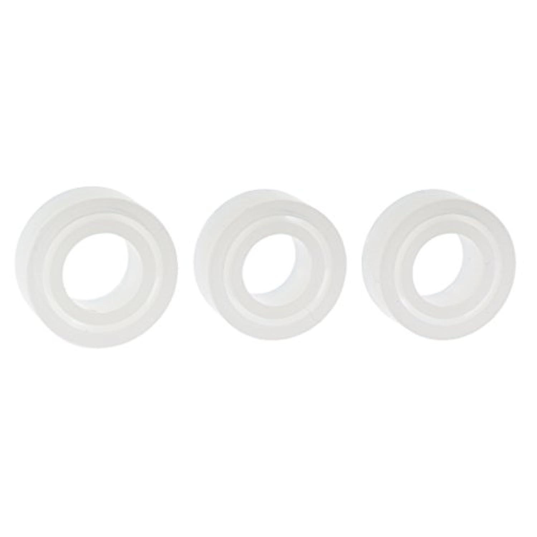 Fityle ホワイト 指輪 リング作り 金型 モデル ジュエリー 6種セット 手芸 DIY
