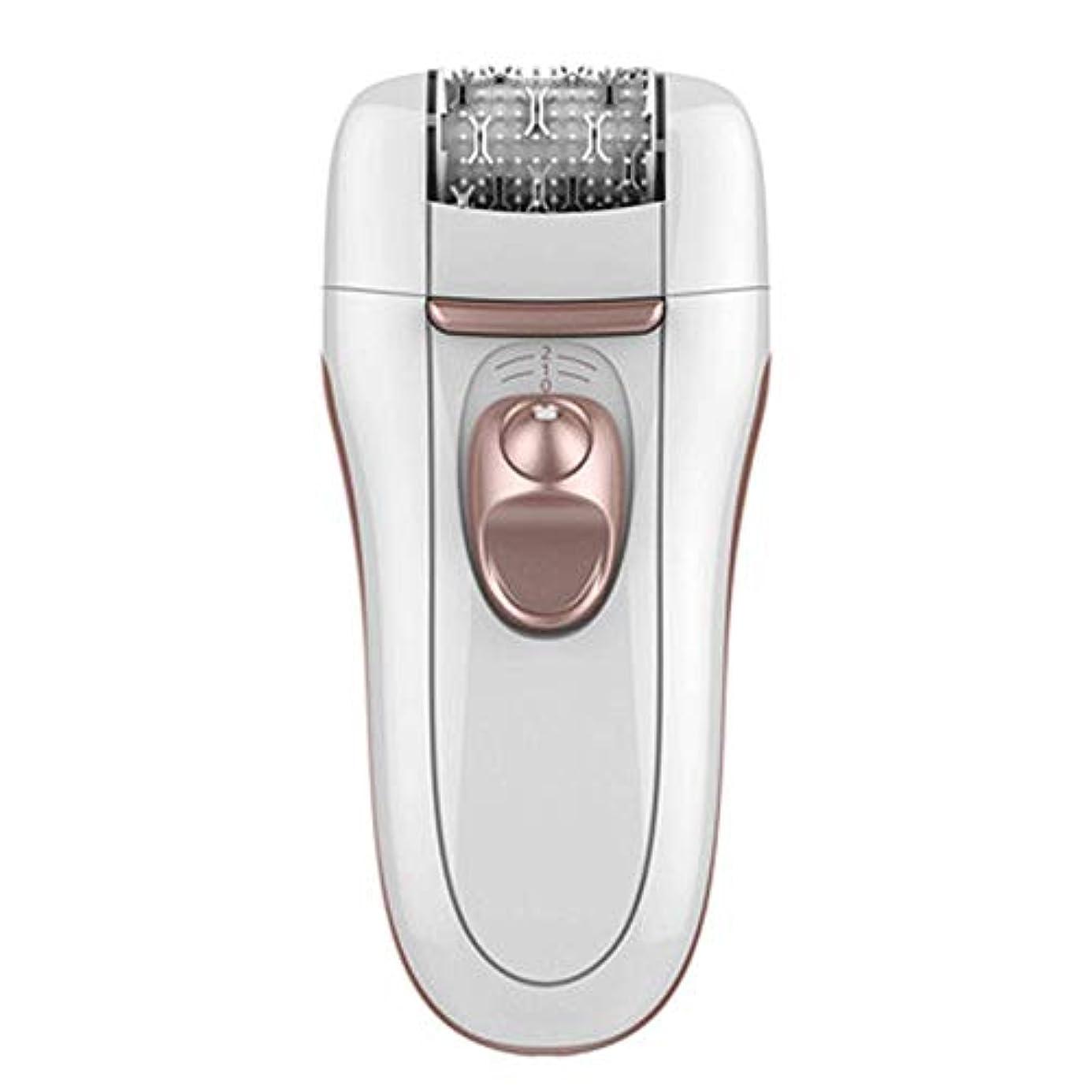 XUEYAQI- 電気アイスポイント脱毛器具、家庭用レーザー脱毛アーティファクト、男性と女性の外部脱毛器、痛みのない顔用脱毛器(ローズゴールド)