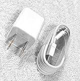 Iphone 充電器+ケーブル【アップル純正】Apple-Lightning充電セット ACアダプター+USBケーブル(1m)2点