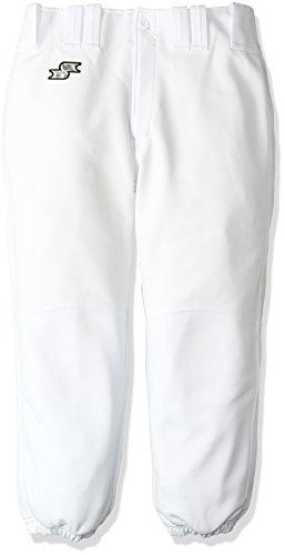 (エスエスケイ)SSK Club Model/ ジュニア・練習着パンツ(ヒザ補強) PUP003RJ ホワイト 140