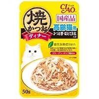 焼かつおディナー高齢猫用かつお節50g おまとめセット【6個】