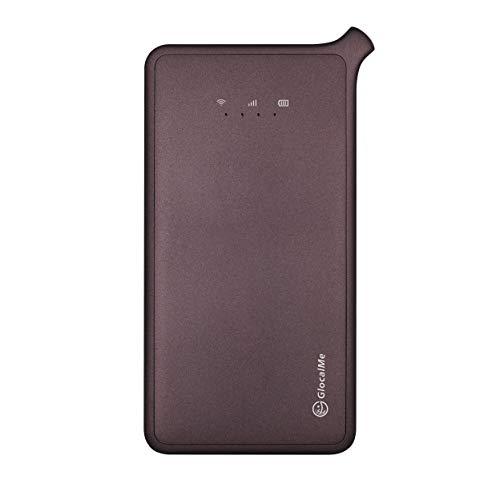 正規輸入品GlocalMe U2 モバイル WiFiルーター 1GB分のグローバルデータパック付き 高速4G LTE ポケットWiFi SIMフリー グローバル対応 フリーローミング 国内・海外旅行最適 iPhone・Xperia・HTC・Galaxy・iPadなど全機種対応 超軽くて携帯便利 (グレー)
