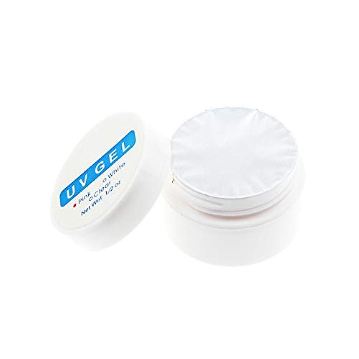 1st market 透明な実用的なUV光線療法ネイル用品ネイル用クリスタルネイル延長接着剤必須のUVジェル、透明