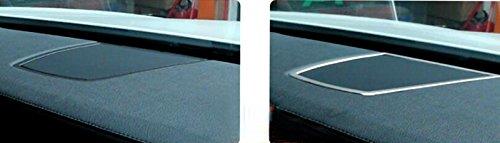 中央コンソール スピーカー カバー トリム(1枚)「BMW 7 シリーズ F01・F02 2010-2015」に適合