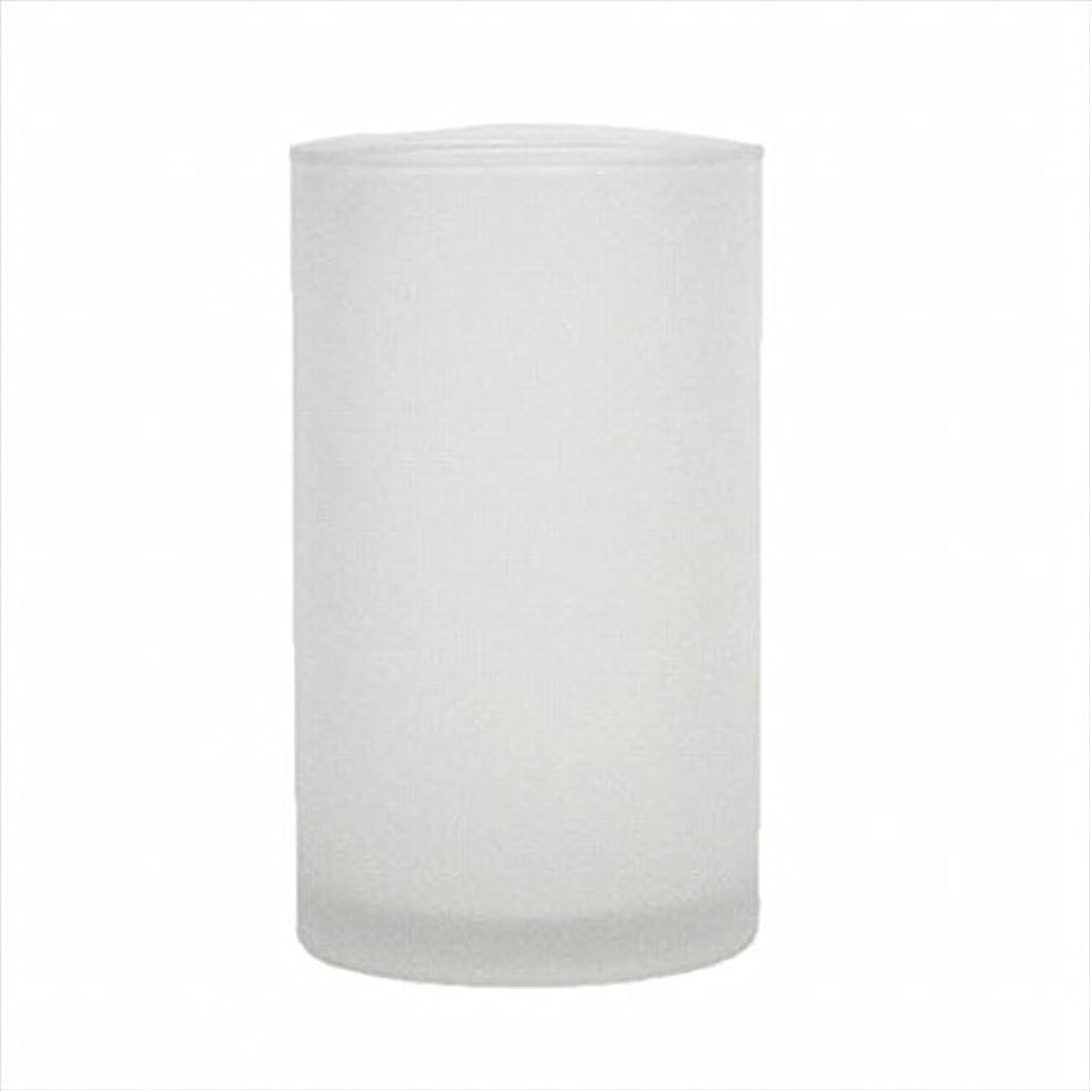 緩めるメッセンジャー落とし穴カメヤマキャンドル(kameyama candle) モルカグラスSフロスト