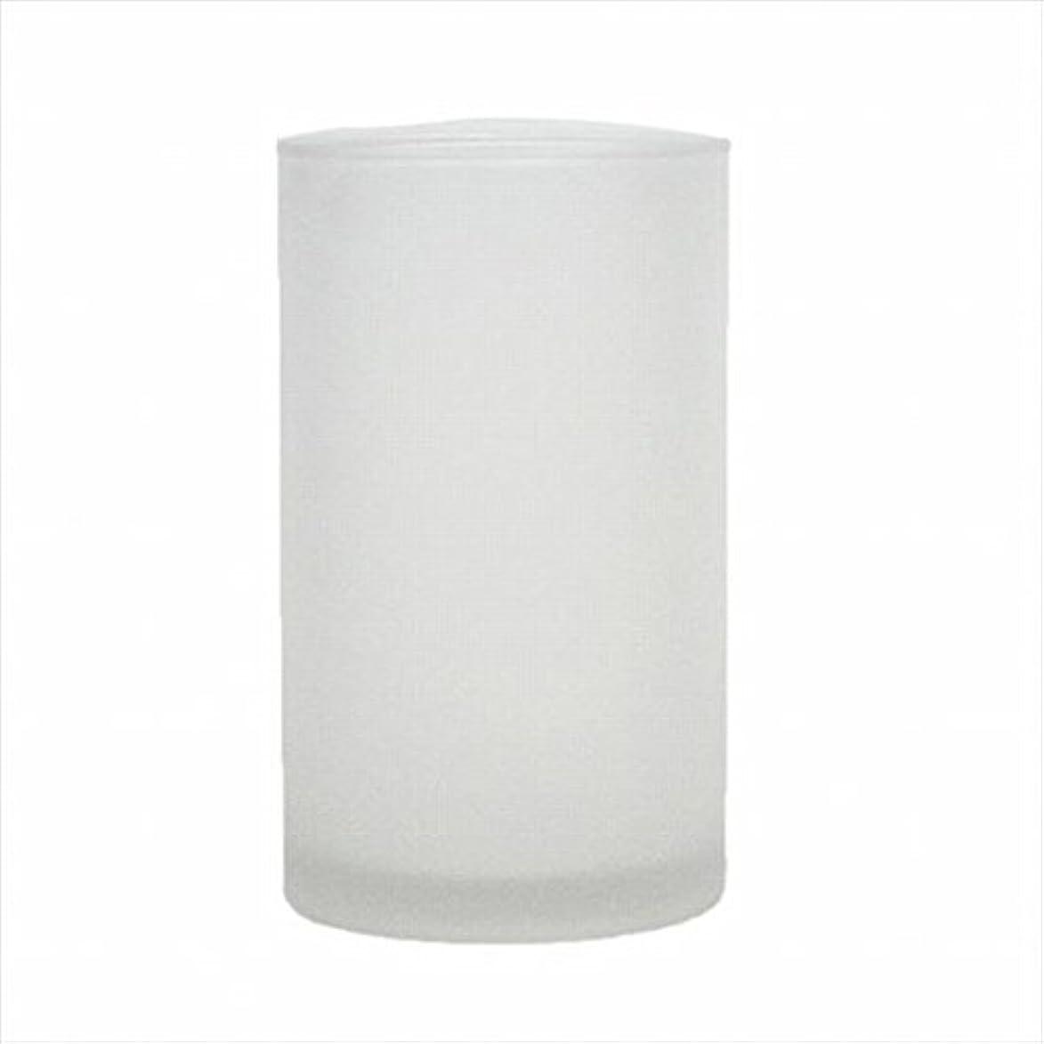 のヒープスパイラル落ち着かないカメヤマキャンドル(kameyama candle) モルカグラスSフロスト