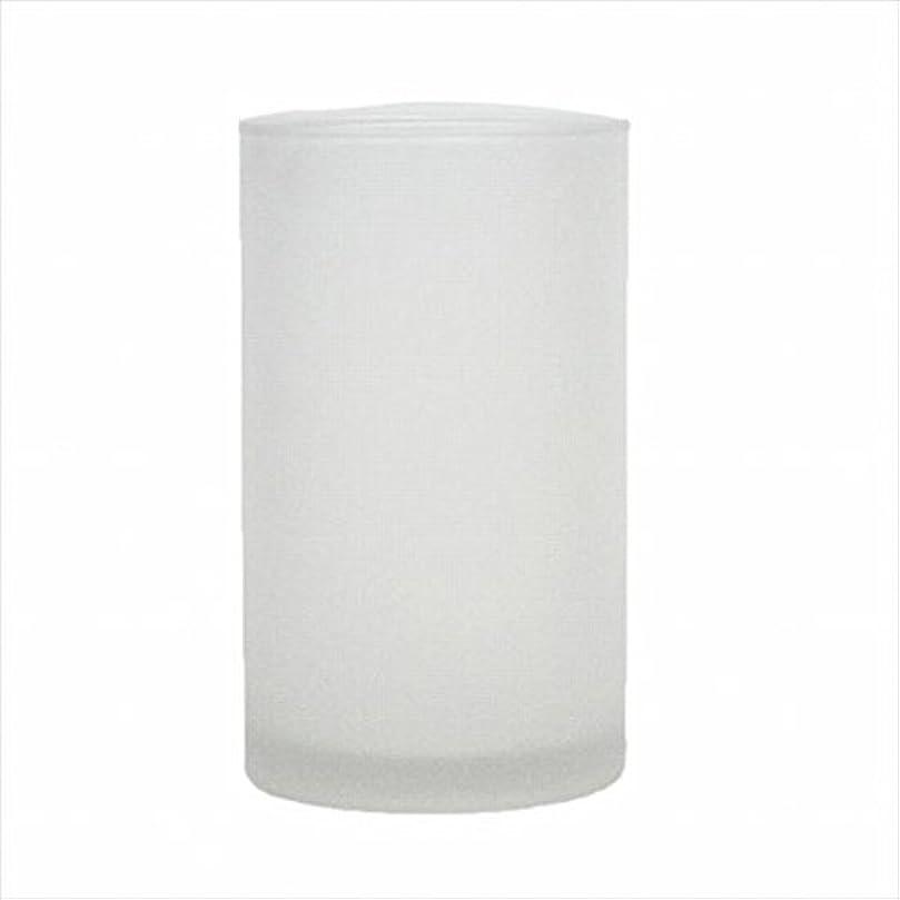 ショッキング世紀ご意見カメヤマキャンドル(kameyama candle) モルカグラスSフロスト