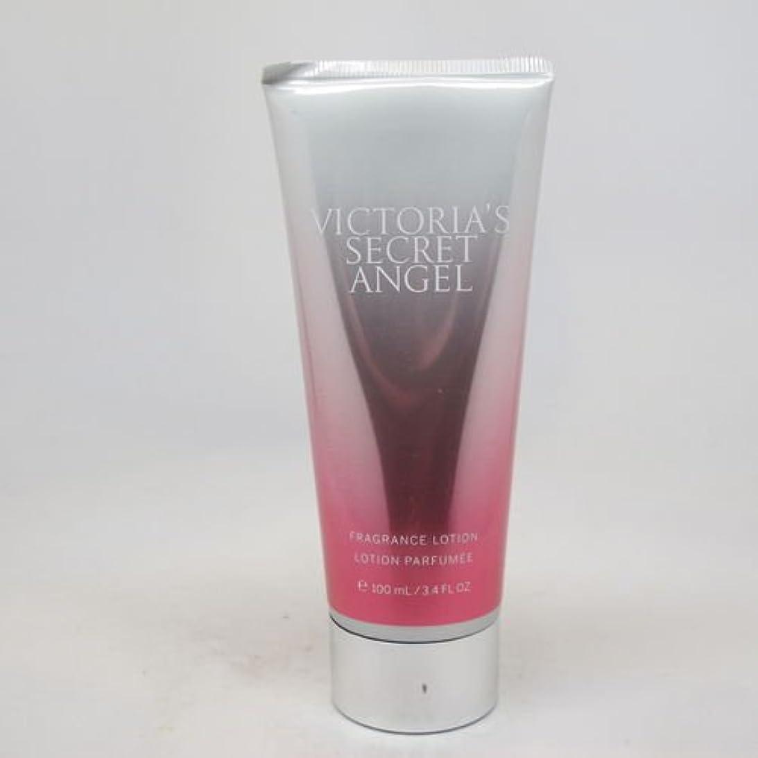 怖い朝地下室Victoria's Secret Angel (ヴィクトリアシークレット エンジェル) 3.4 oz (100ml) Body Lotion for Women