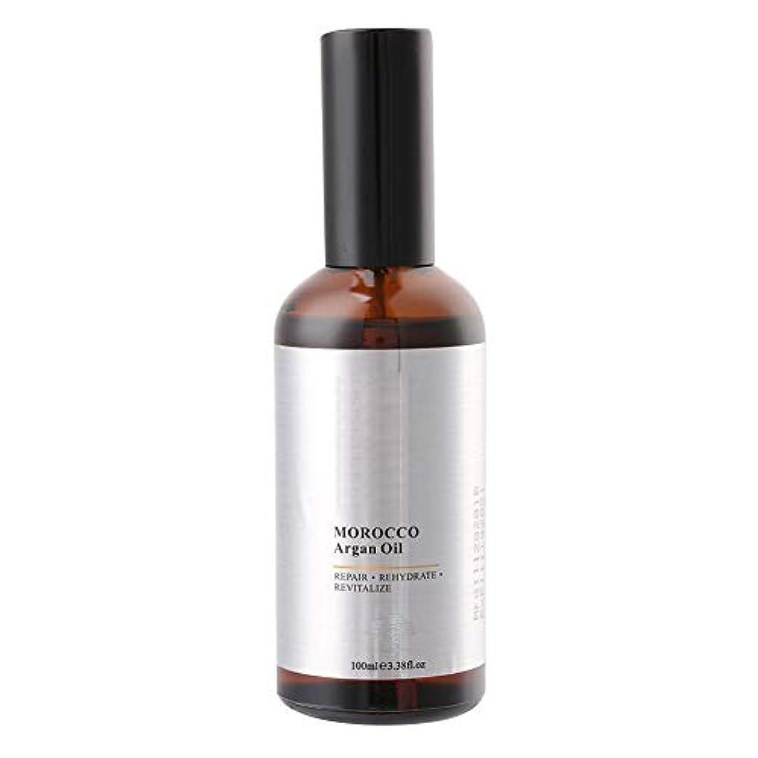 フィード悪行ファームヘアケアエッセンスオイル100mlモロッコアルガンオイルエクストラストレングス浸透オイル、乾いたと粗い髪、保湿修復髪