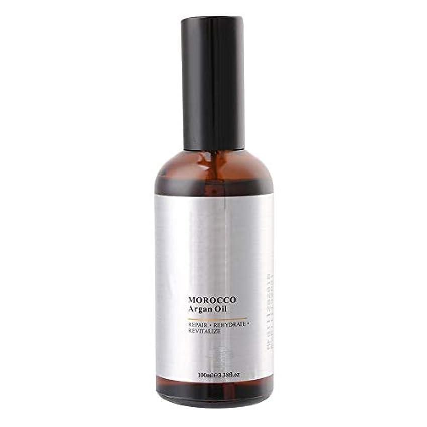 ヘアケアエッセンスオイル100mlモロッコアルガンオイルエクストラストレングス浸透オイル、乾いたと粗い髪、保湿修復髪