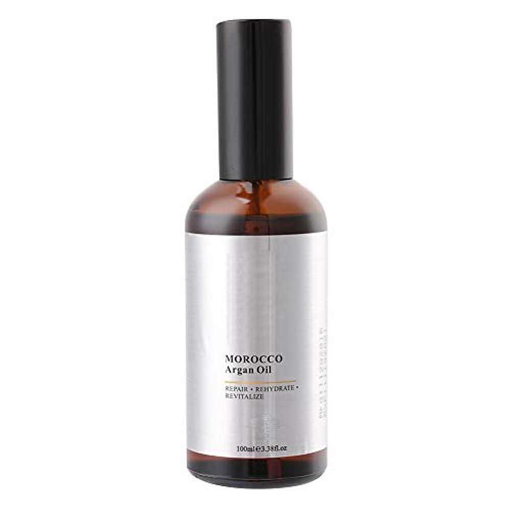 相反する蒸発する浸漬ヘアケアエッセンスオイル100mlモロッコアルガンオイルエクストラストレングス浸透オイル、乾いたと粗い髪、保湿修復髪