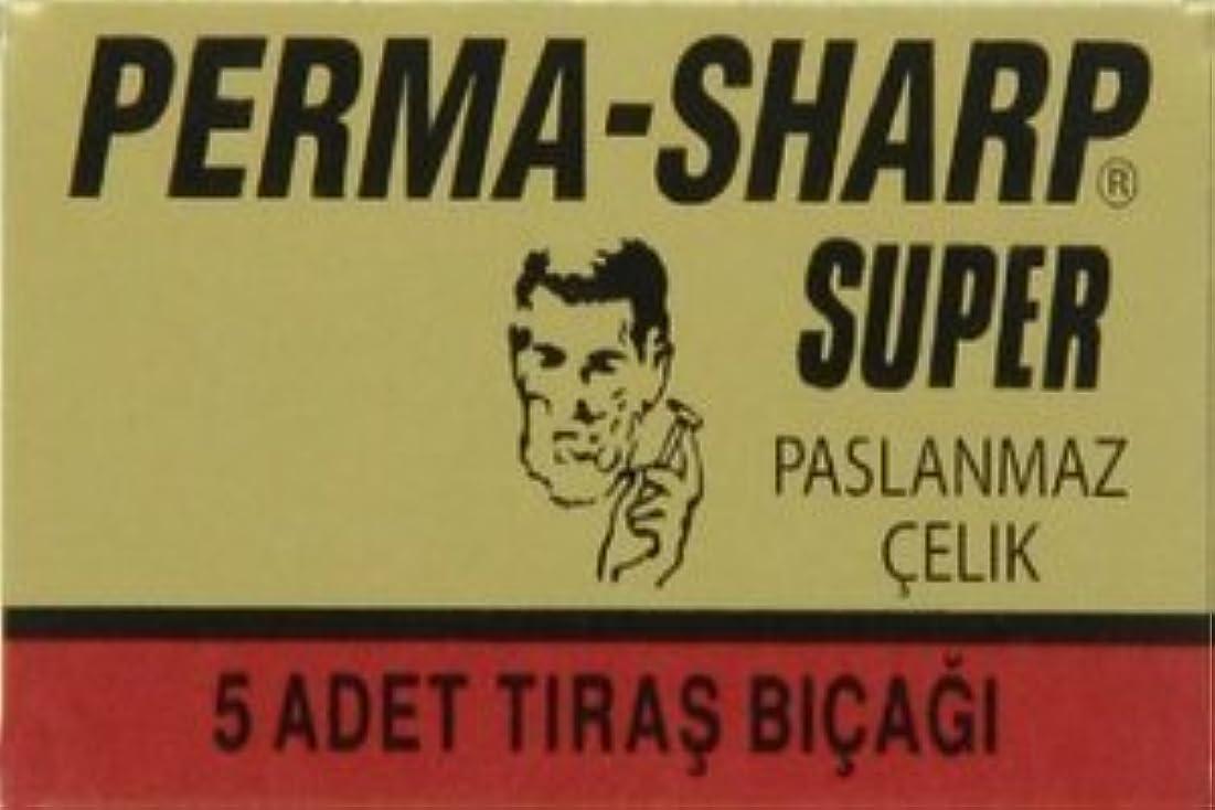 意図見出し落胆したPerma-Sharp Super 両刃替刃 5枚入り(5枚入り1 個セット)【並行輸入品】