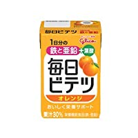 江崎グリコ 毎日ビテツ オレンジ (100mL)