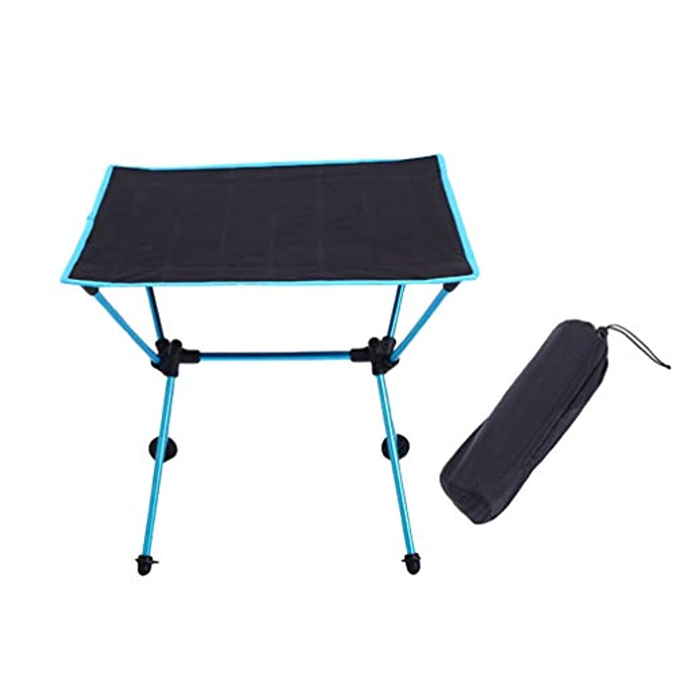 罰する従事する織るYiyiLai アウトドア キャンプテーブル アルミテーブル 折畳式 机 コンパクト テーブル 軽量 携帯便利 ピクニック BBQ 収納袋付き