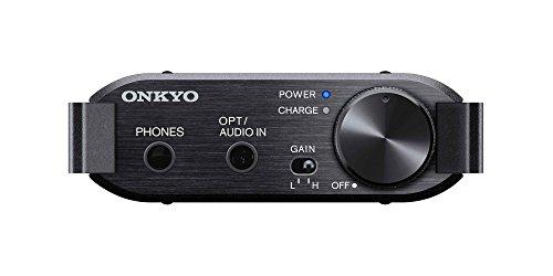 ONKYO DAC-HA200 ポータブルヘッドホンアンプ ハイレゾ対応 ブラック DAC-HA200(B) 【国内正規品】