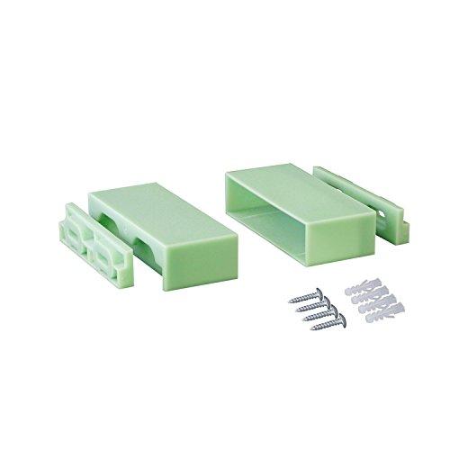 RoomClip商品情報 - LABRICO  DIY収納パーツ 1×4棚受  ヴィンテージグリーン DXV-22