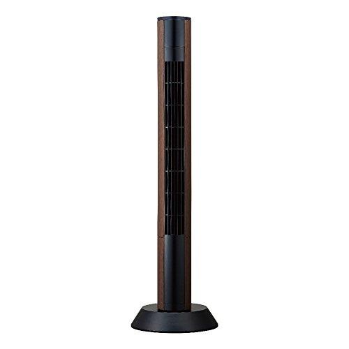 RoomClip商品情報 - ピエリア スリム扇風機タワーファン スリムリモコン式 ダークウッド FTR-902 DWD