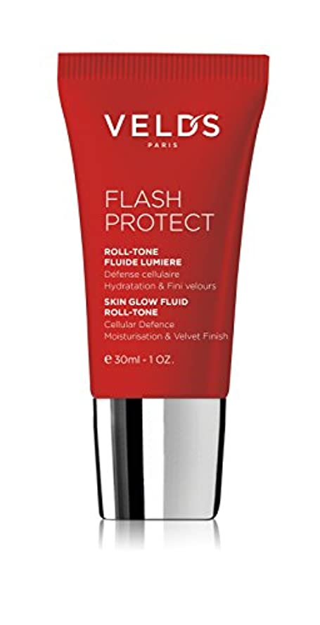 キャラクター受け入れ帝国ヴェルズ Flash Protect Skin Glow Fluid Roll -Tone (Beauty Shield) - Fair Skin Nude 30ml/1oz並行輸入品