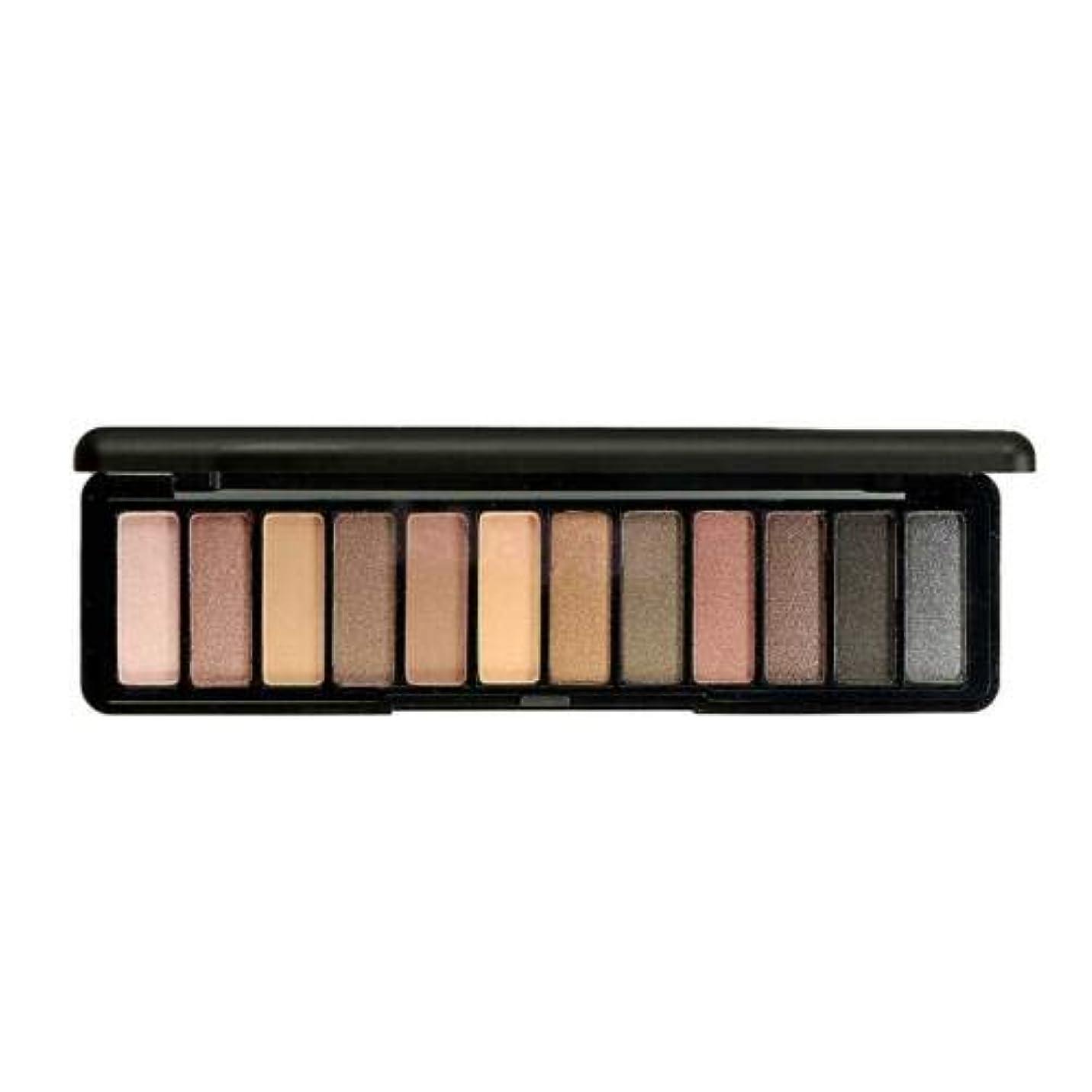 ナチュラル高める子豚FidgetGear 12色化粧アイシャドーパレットシマーパールマットアイシャドー化粧品 #1