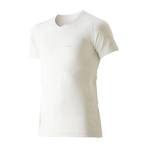 (モンベル)mont-bell ジオラインL.W.VネックTシャツ Men's