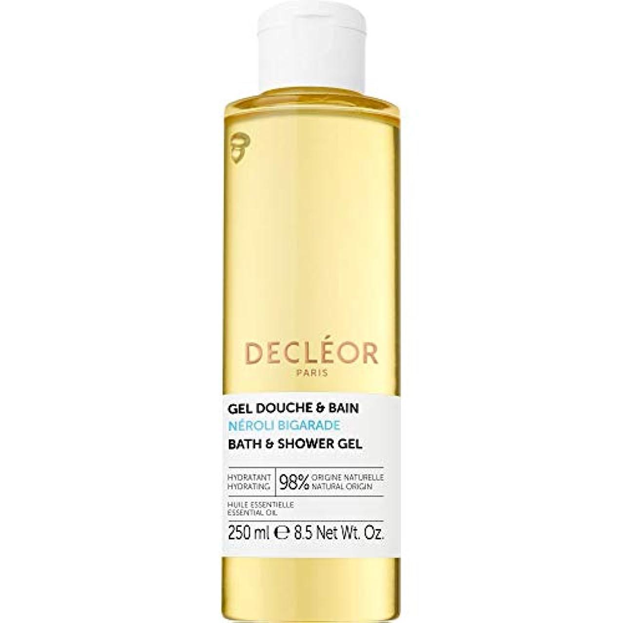 反対にねじれ特に[Decl?or ] デクレオールネロリBigaradeバス&シャワージェル250ミリリットル - Decleor Neroli Bigarade Bath & Shower Gel 250ml [並行輸入品]
