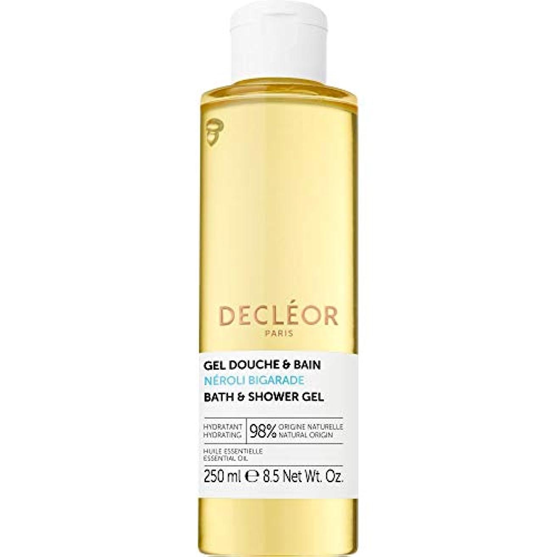 上下するボタンいわゆる[Decl?or ] デクレオールネロリBigaradeバス&シャワージェル250ミリリットル - Decleor Neroli Bigarade Bath & Shower Gel 250ml [並行輸入品]