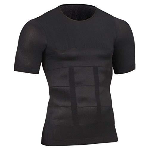 [YETOO] 加圧インナーシャツ ブラック L
