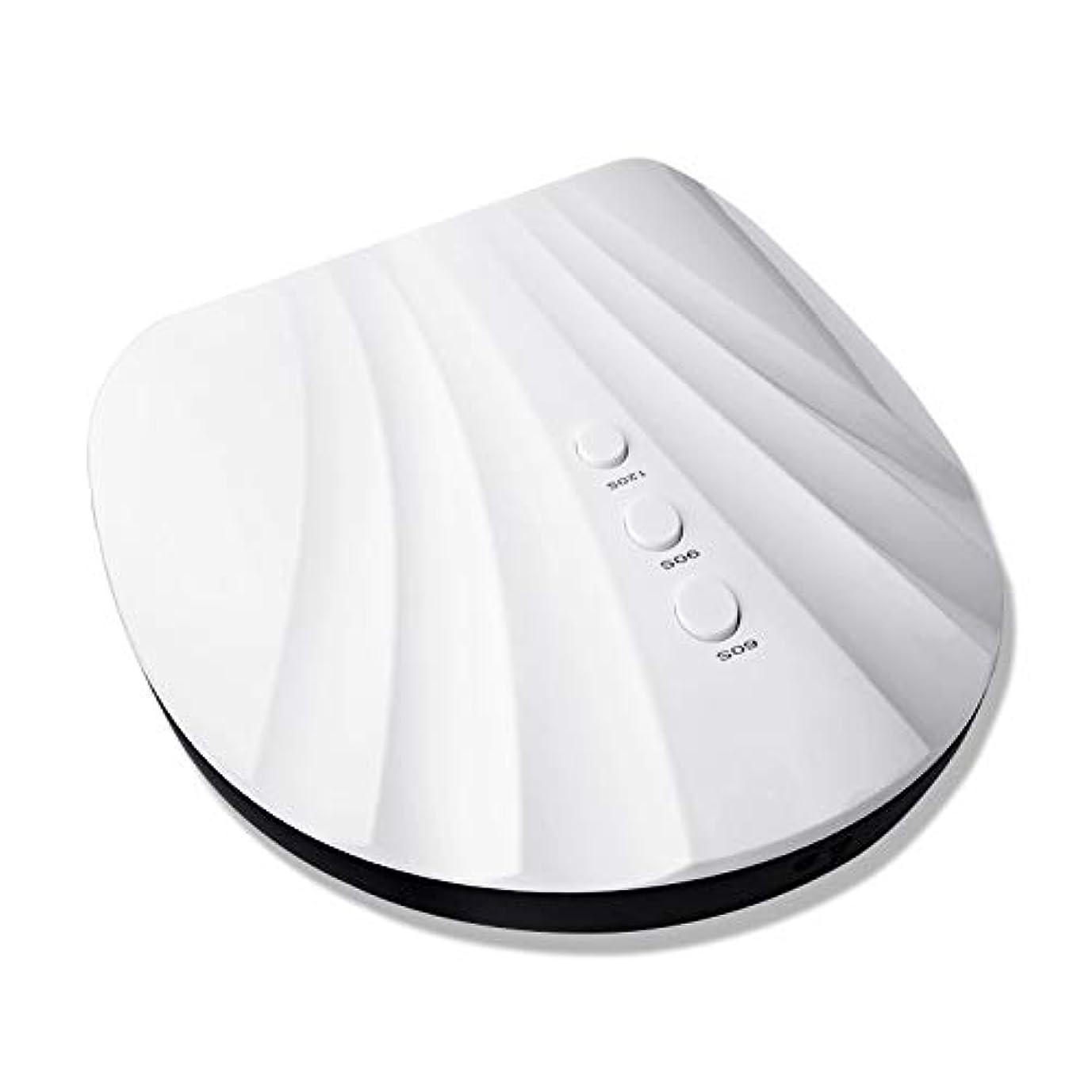 フォーカス吸収剤とても多くのジェルポリッシュ60秒、90秒、120秒タイマー用36W LEDネイルランプドライヤー
