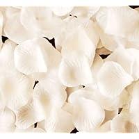 結婚式 2次会 パーティー お祝い 等に バラの花びら たっぷり 1000枚 純白