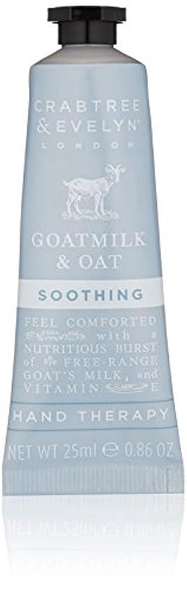 コール小競り合い小麦粉クラブツリー&イヴリン Goatmilk & Oat Soothing Hand Therapy 25ml/0.86oz並行輸入品