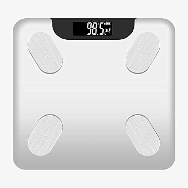 体重計正確な体脂肪計充電小型電子体重計体重計女性の脂肪体コンパクト体重計 QIQIDEDIAN