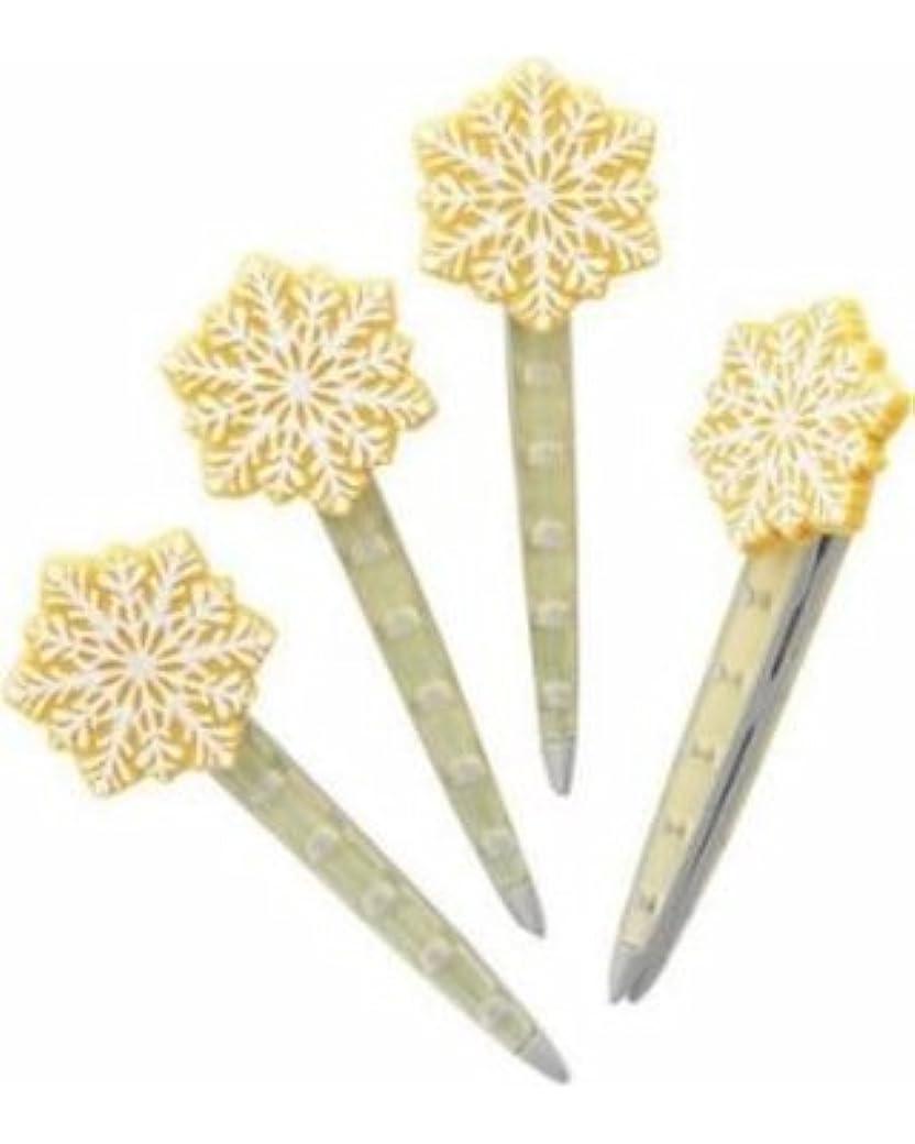 滑るに負ける松Yankee CandleクリスマスクッキーVent Sticks Set of 4