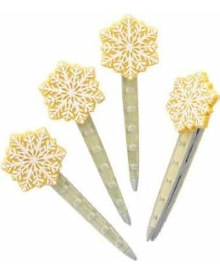 路面電車修羅場カウンターパートYankee CandleクリスマスクッキーVent Sticks Set of 4