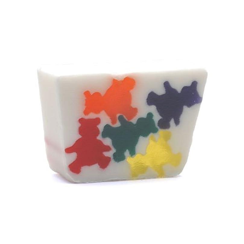 相対的チョコレート有彩色のプライモールエレメンツ アロマティック ミニソープ キャンディベア 80g 植物性 ナチュラル 石鹸 無添加